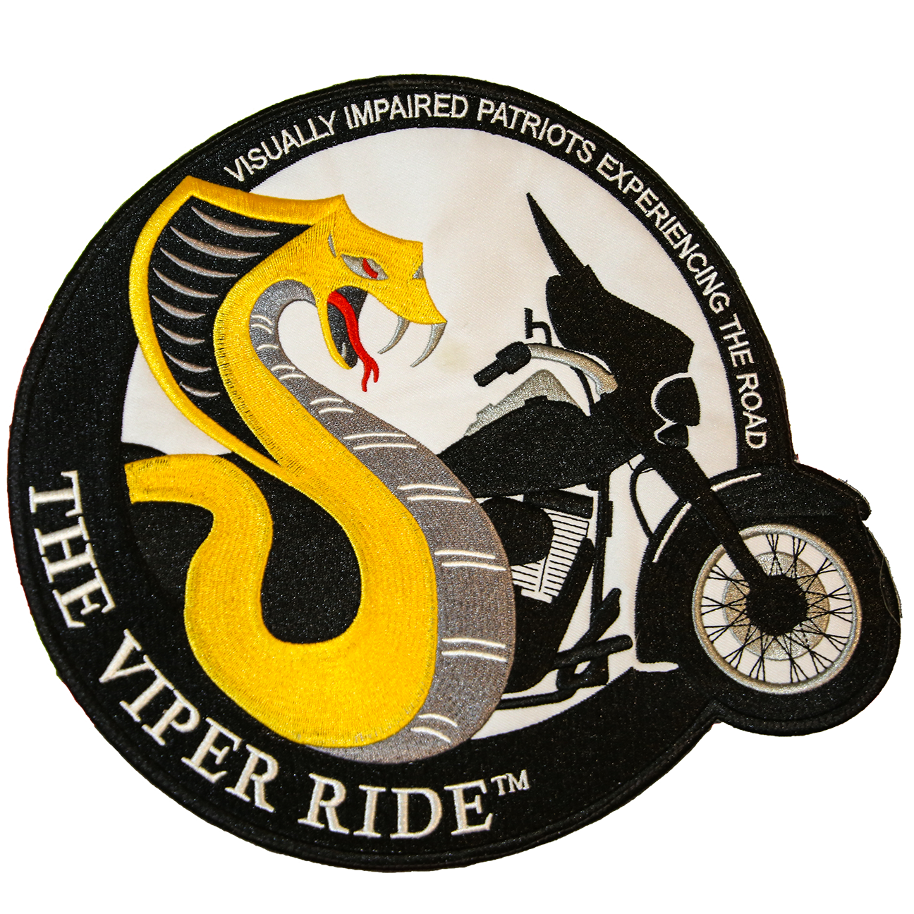 VIPER RIDE PATCH (LARGE 9 1/2 in. x 9 1/2 in.)