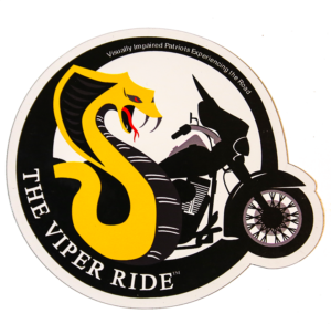 VIPER RIDE Refrigerator Magnet (Approx. 3 1/2 in. x 3 1/2 in.)
