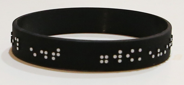 VIPER RIDE Braille Wristband