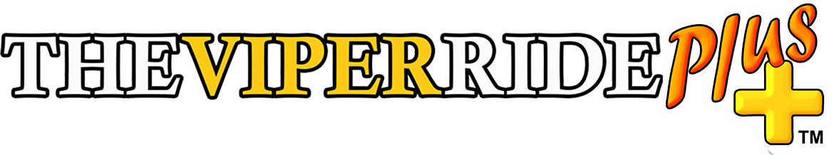 THE VIPER RIDE PLUS LOGO