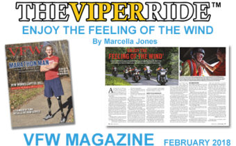 THE VIPER RIDE IN VFW MAGAZINE